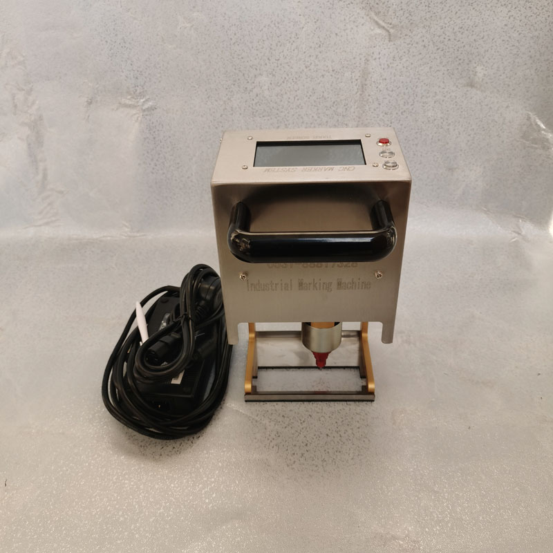 C1磁吸式气动打码机 重汽江铃车架大梁刻字机 轩一汽车大架号打标机