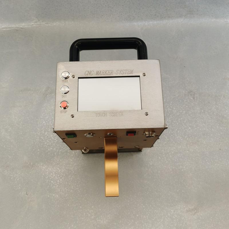 济南轩一钢板钢结构焊接厂专用打标机 气动钢印打号机 钢材模具零件打码机