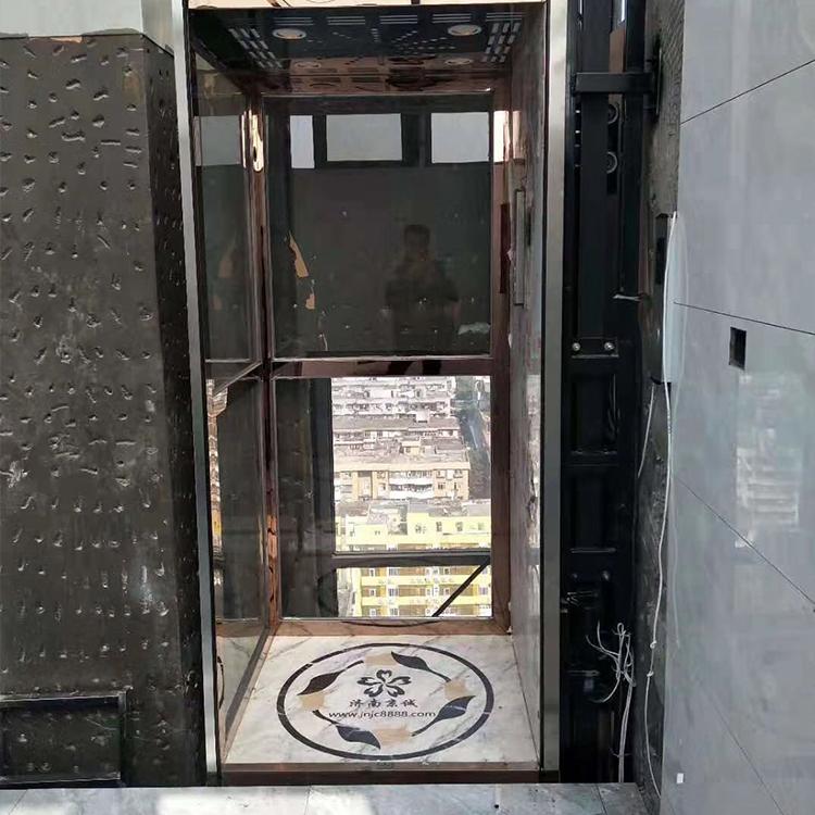 济南京诚专业生产 载人电梯 家用电梯 液压电梯 别墅电梯