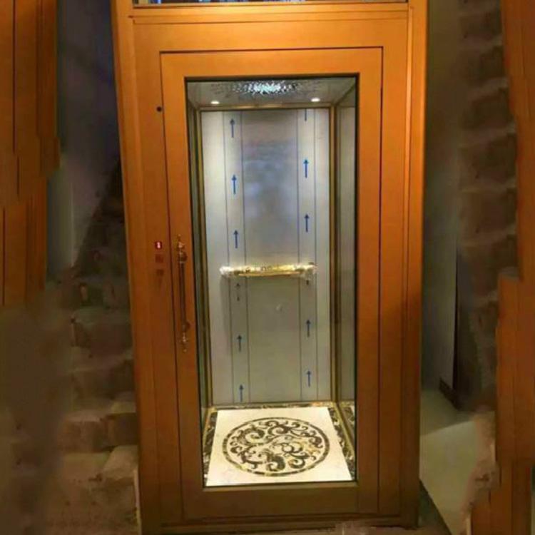 家用电梯 家用升降机 液压式家用升降平台 别墅阁楼观光电梯 济南京诚